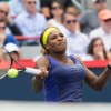 Serena takes on Wozniacki