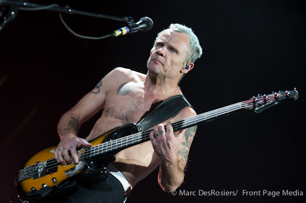 April 30th, 2012. The Red Hot Chili Peppers perform at Scotiabank Place in Ottawa