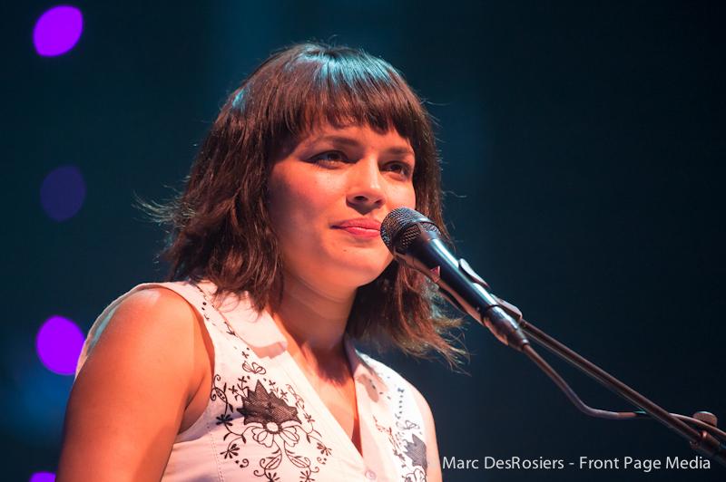 Norah Johnes performs at the RBC Royal Bank Bluesfest at Lebreton Flats, Ottawa, ON, CAN. July 8th, 2012