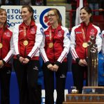 Team Canada, led by Rachel Homan, win the Scotties Tournament of Hearts